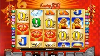 Aristocrat Lucky 88 Online Slot Machine Game Play