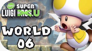 New Super Luigi U: World 06 (4 players)