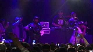 50 cent surprise performance at the lox filthy america tour