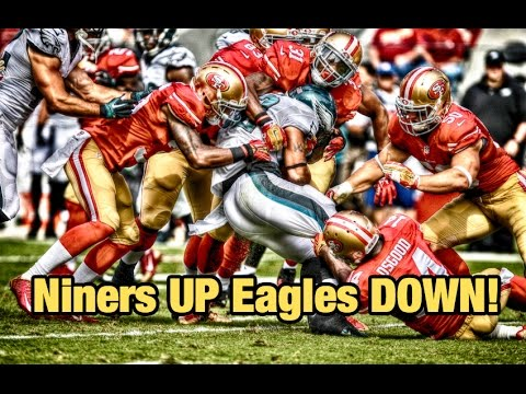 NFL 49ERS finally win in LEVIS STADIUM! 49ers vs Eagles 2014 Week 4