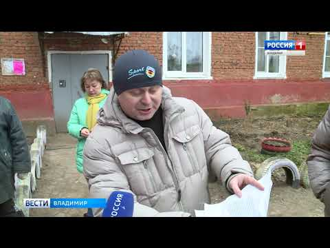 Аварийный дом в Карабаново