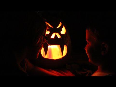 Вырезаем тыкву всей семьёй на Хеллоуин Семейный влог. Carving Pumpkin For Halloween. жизнь в Америке