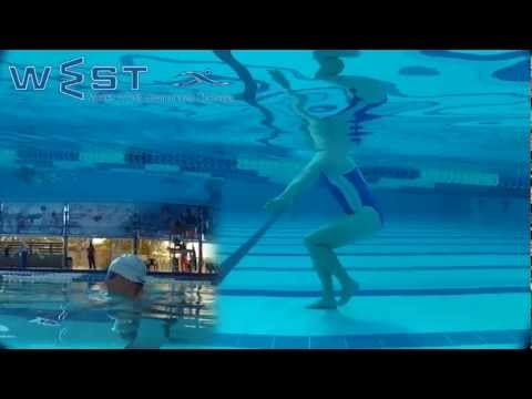 Learn to swim breaststroke in WEST swimming technique – step 5