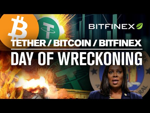 BITCOINs Going to CRASH!? Why? Tether & Bitfinex Know!