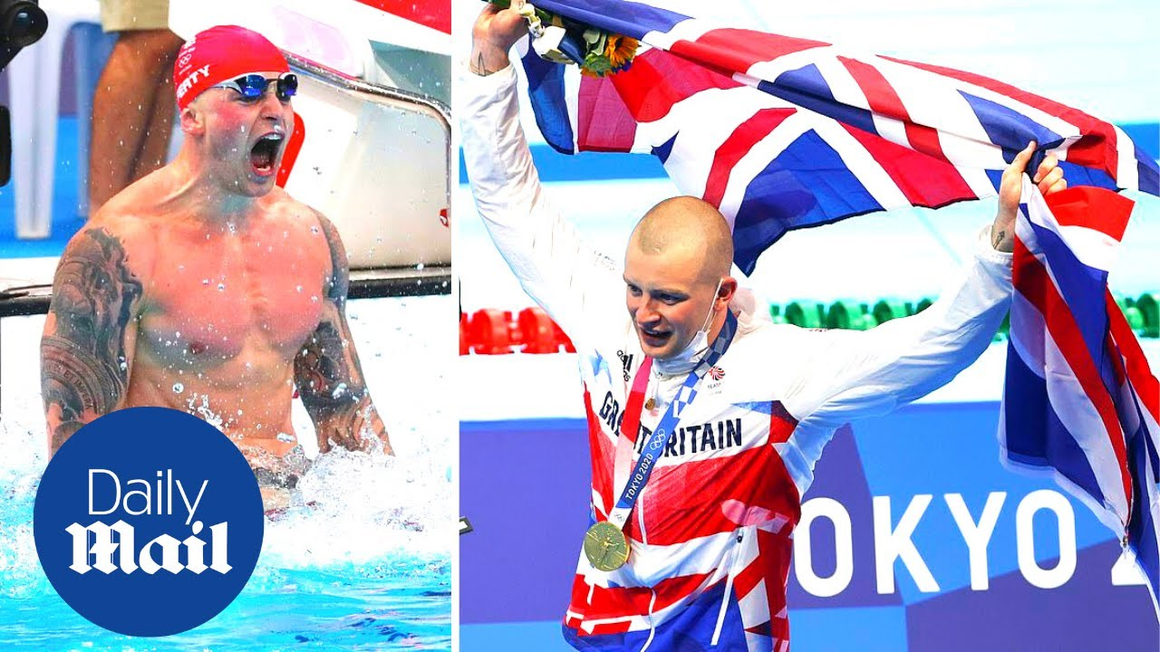 Adam Peaty retains Olympic gold at the 2020 Tokyo Games on Team GB's Mega Monday