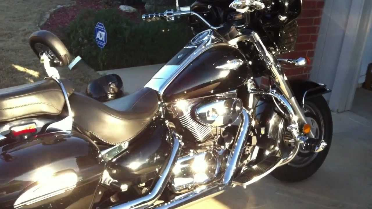 2005 suzuki boulevard c90 1500cc with memphis shades batwing fairing for sale youtube