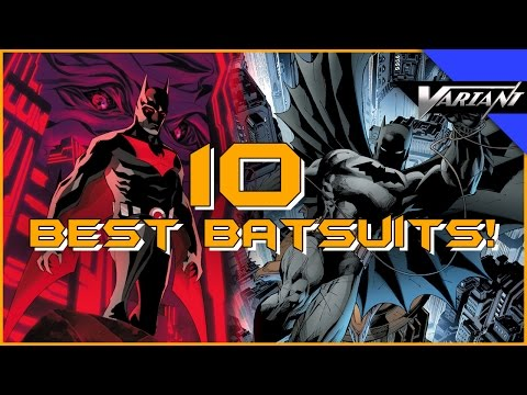 10 Best Batsuits!