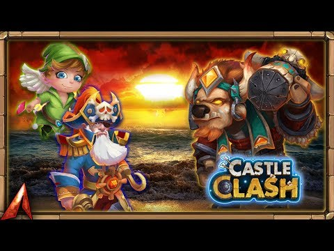 Guild Wars And Mino! POWERFUL AFTER TRAITS!? Castle Clash