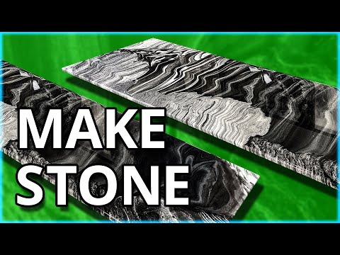 The Process Of Mimicking Natural Stone With Epoxy Is Revealed | Stone Coat Countertops