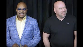 Dana White, Leonard Ellerbe discuss Floyd Mayweather vs. Conor McGregor