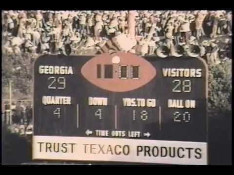 1978 #11 Georgia Bulldogs vs. Georgia Tech Yellow Jackets - Larry Munson