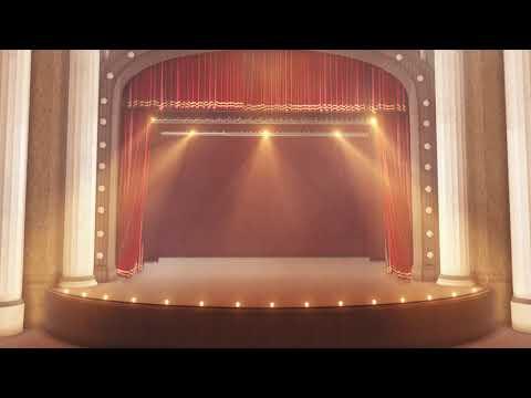 Театральный занавес: футаж