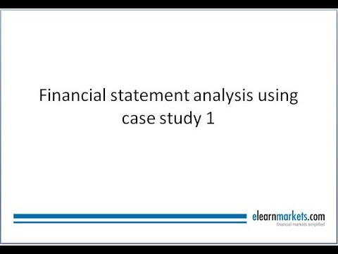 Step By Step Guide To Do Financial Statement Analysis  Youtube