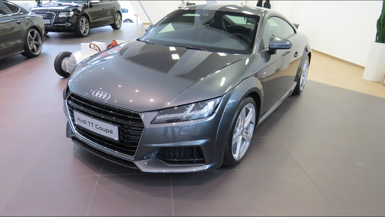2015 audi tt coupe 2 0 tdi s line youtube. Black Bedroom Furniture Sets. Home Design Ideas