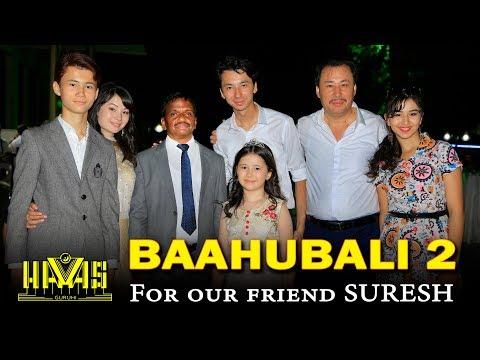 BAHUBALI Telegu song: Uzbek Music group HAVAS guruhi. 29-06-2017 Tashkent. Uzbekistan