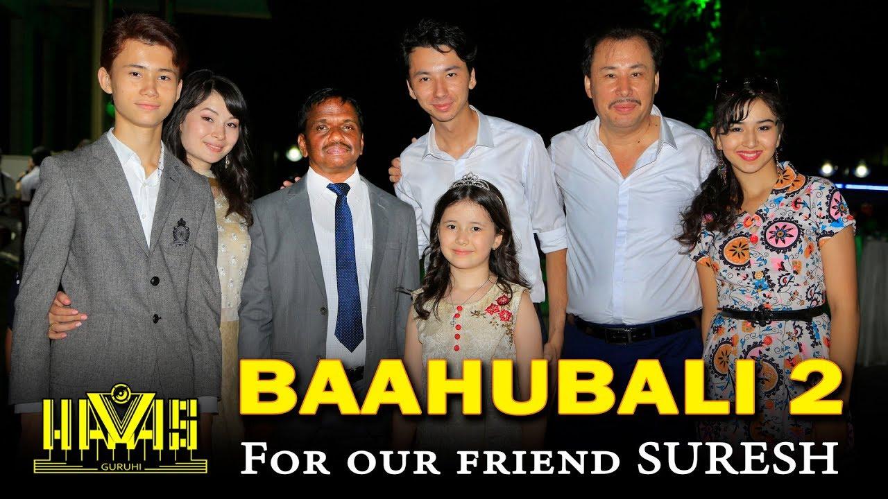 bahubali telegu song uzbek group havas guruhi