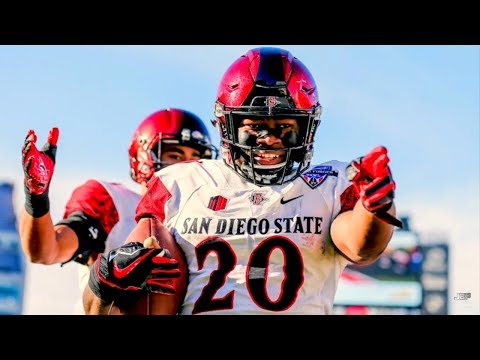MWC's Most Dangerous Offensive Weapon || San Diego State RB Rashaad Penny Career Highlights ᴴᴰ