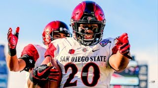 Most Dangerous Offensive Weapon in the MWC || San Diego State RB Rashaad Penny Career Highlights ᴴᴰ