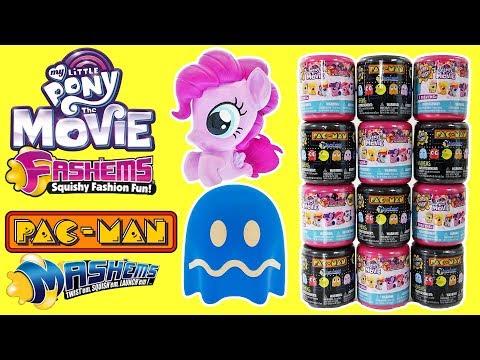 My Little Pony Movie Fashems And Pac Man Mashems