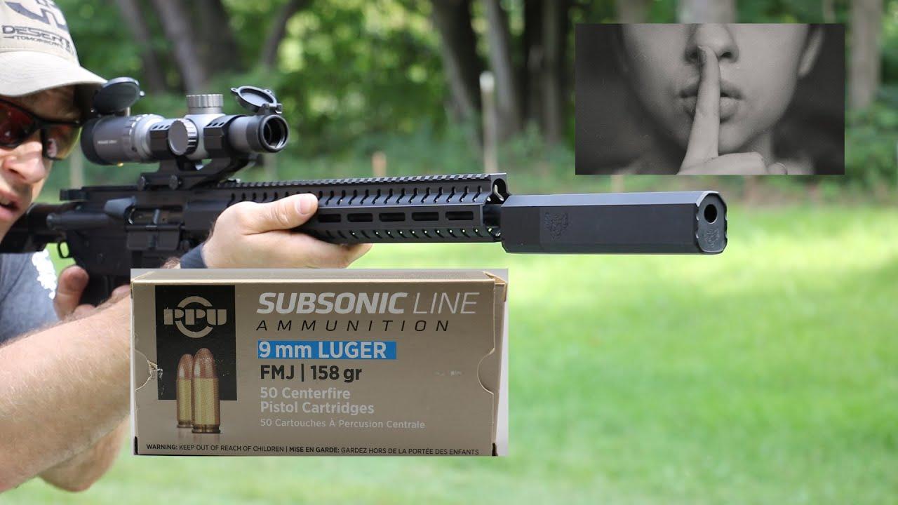 9x19mm, 158gr FMJ, Prvi Partizan Subsonic