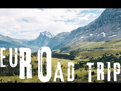 Road Trippin' Europe [VADUZ, LUCERNE, MILAN, MONACO, NICE]