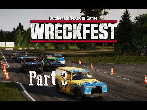 Wreckfest [Gameplay] #3 Tristar - Bloomfield Speedway - Figur Eight HD