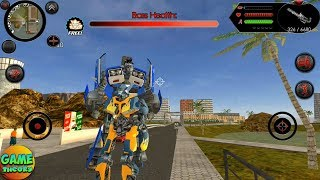 Robot Shark by Naxeex Game / The Huge Boss Transform Android Game FHD