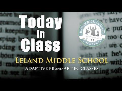 Leland Middle School - Adaptive PE/ART Class