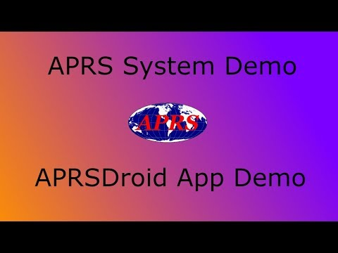 Automatic Packet Reporting System (APRS) & APRSDroid App - Demo & Tutorial