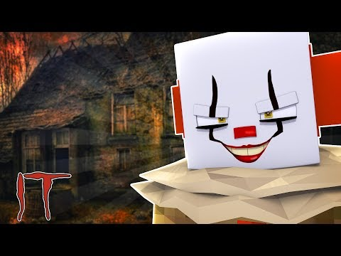 IT THE CLOWN MINECRAFT - WE FOUND HIS HOUSE!