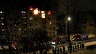 Pożar na Jagiellońskiej 47 Kielce