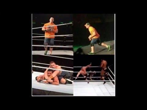 WWE John Cena MSG RETURN 2015 - WWE John Cena Vs Alberto Del Rio WWE MSG 2015 JOHN CENA RETURNS