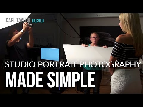 Download Youtube: A Simple 2 Light Portrait Set-Up with Karl Taylor