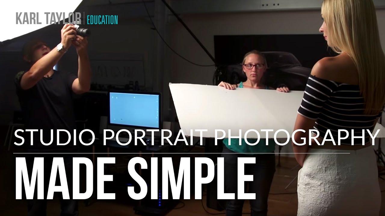A Simple 2 Light Portrait Setup With Karl Taylor