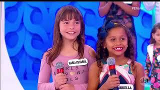 Programa Eliana 14-10-2018   Famosos da Internet Especial Dia das Crianças Parte 1