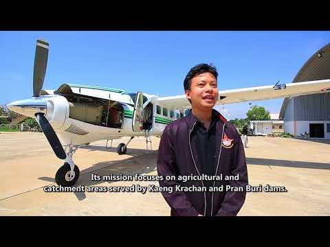 Incredible Thailand EP2 Rainmaking Project Royal Rain Benevoelnce pouring from Sky MPG  HD