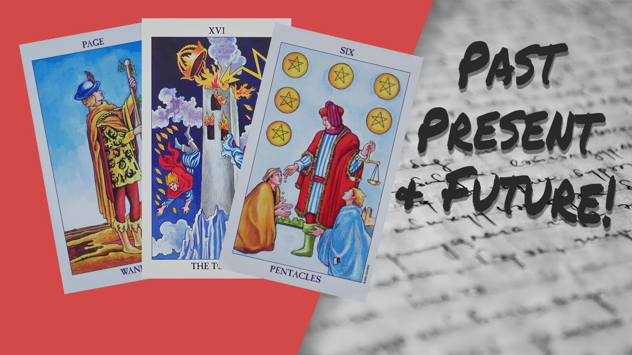 How to Read a 3 Card Tarot Spread - Past Present & Future