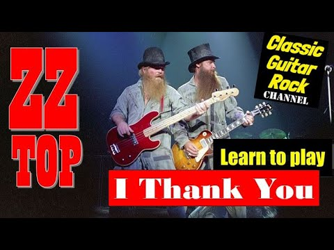 "Learn To Play ""I Thank You"" By ZZ Top - Easy Guitar Lesson"