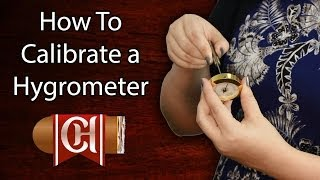 How to Calibrate a Hygrometer