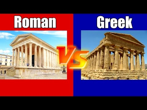 Roman Temples VS Greek Temples - Understanding The Differenc