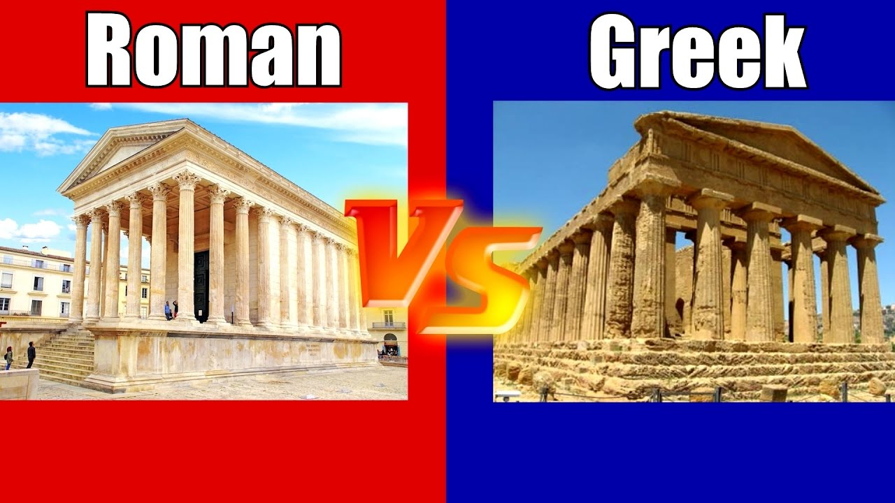 Difference Between Romans and Greeks
