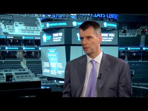 Интервью с Михаилом Прохоровым в Barclays Center