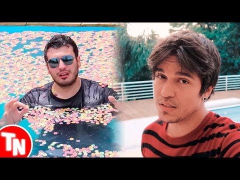 Vlad enche piscina de cereal e é criticado, Gusta responde polêmica