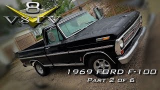 1969 Ford F100 / 2002 Ford Lightning ThundersTruck Video Part 2 of 6  V8TV