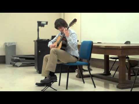 Josh Barrow performs the Prelude Bach's 3rd Cello Suite BWV 1009