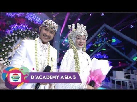 Penganten Anyar!! Ega DA - Rafly DA Buat Hajatan Di Panggung D'Academy Asia 5