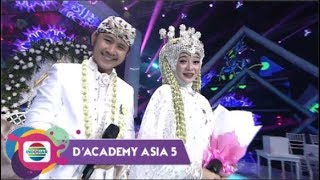 Gambar cover Penganten Anyar!! Ega DA - Rafly DA Buat Hajatan Di Panggung D'Academy Asia 5