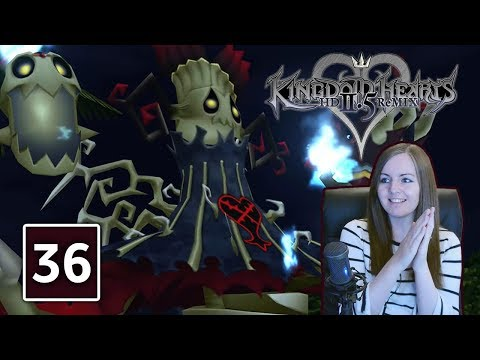 GRIM REAPER BOSS FIGHT | Kingdom Hearts 2.5 Final Mix Gameplay Walkthrough Part 36