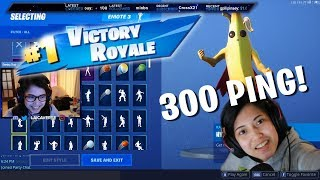 FORTNITE POG! 300PING IS REAL!