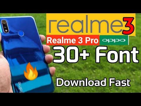 Realme 3 Font & Realme 3 Pro Font Change For All Realme Devices | Oppo F11 Pro Font Change